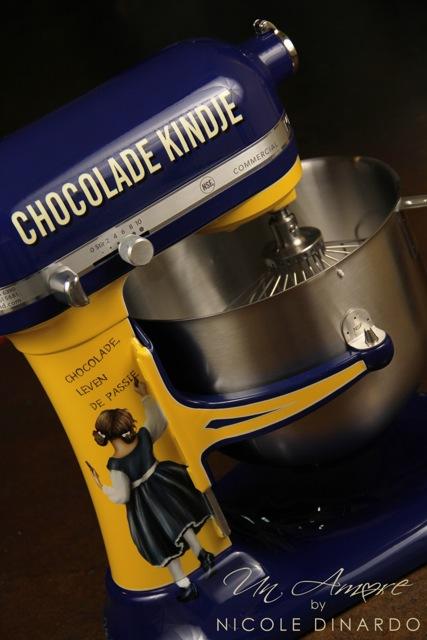 Chocolade Kindje Custom KitchenAid Mixer Lovely Vintage Theme Un Amore Custom Designs