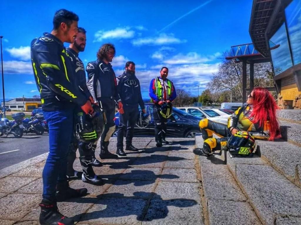 Primera Ruta Madrid CB Riders
