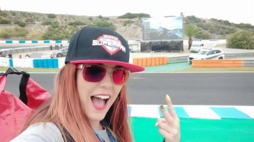 A pie de pista en Jerez