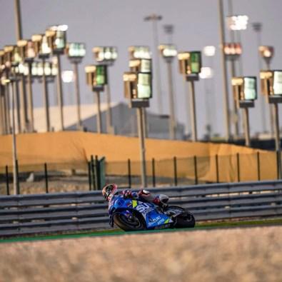 Álex Rins en Qatar
