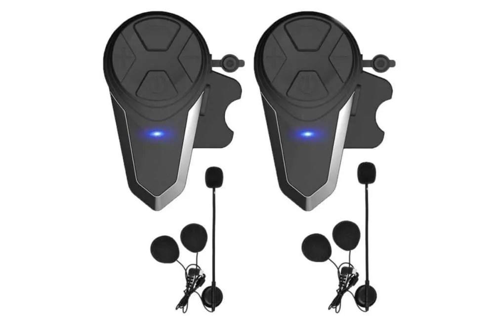 pareja de intercomunicadores para el casco