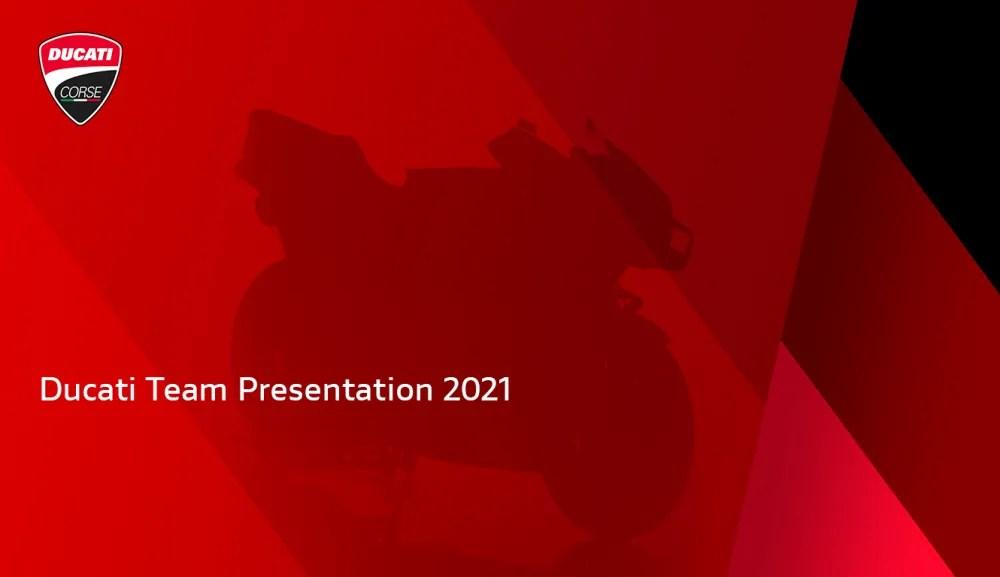 Presentación Ducati 2021
