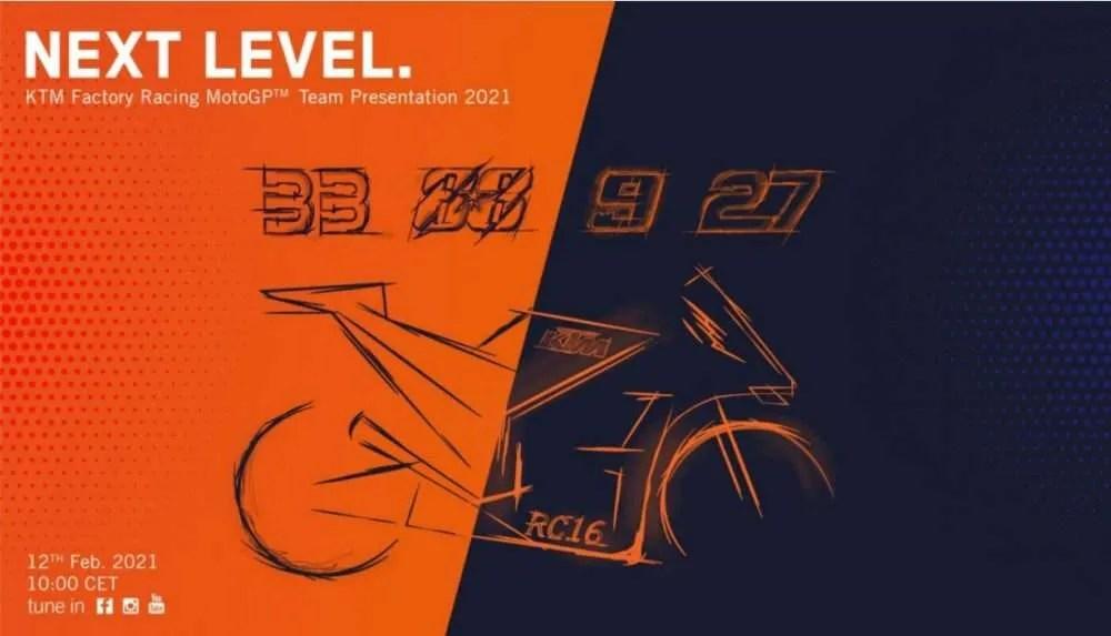 Presentación KTM 2021