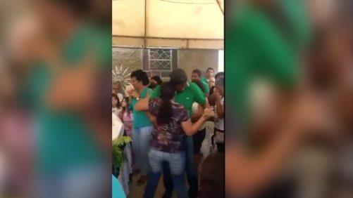 Viúva dança forró