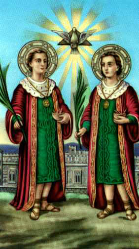 Novena ai Santi Medici Cosma e Damiano