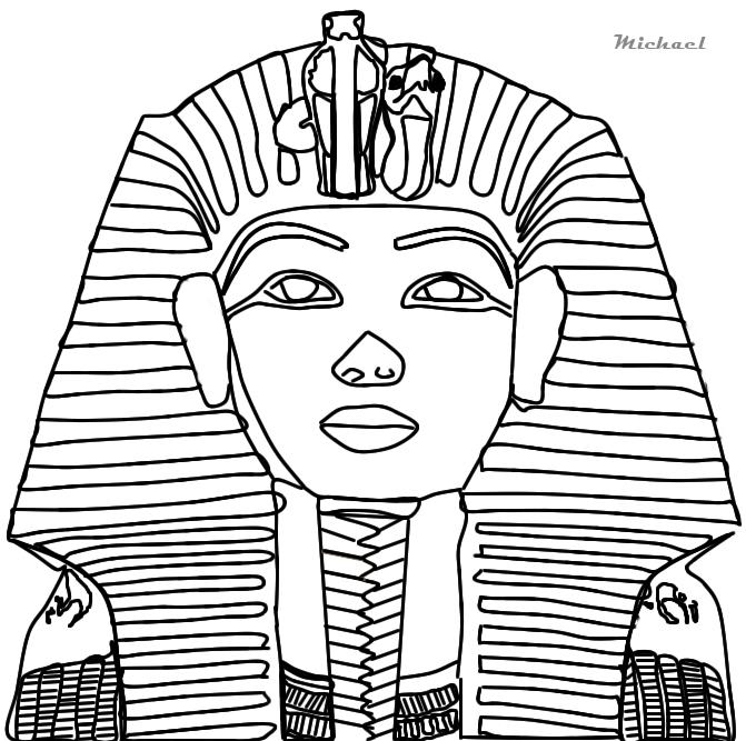 Disegno Di Tutankamon Da Colorare Auto Electrical Wiring Diagram