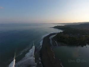 Pavones aerial view