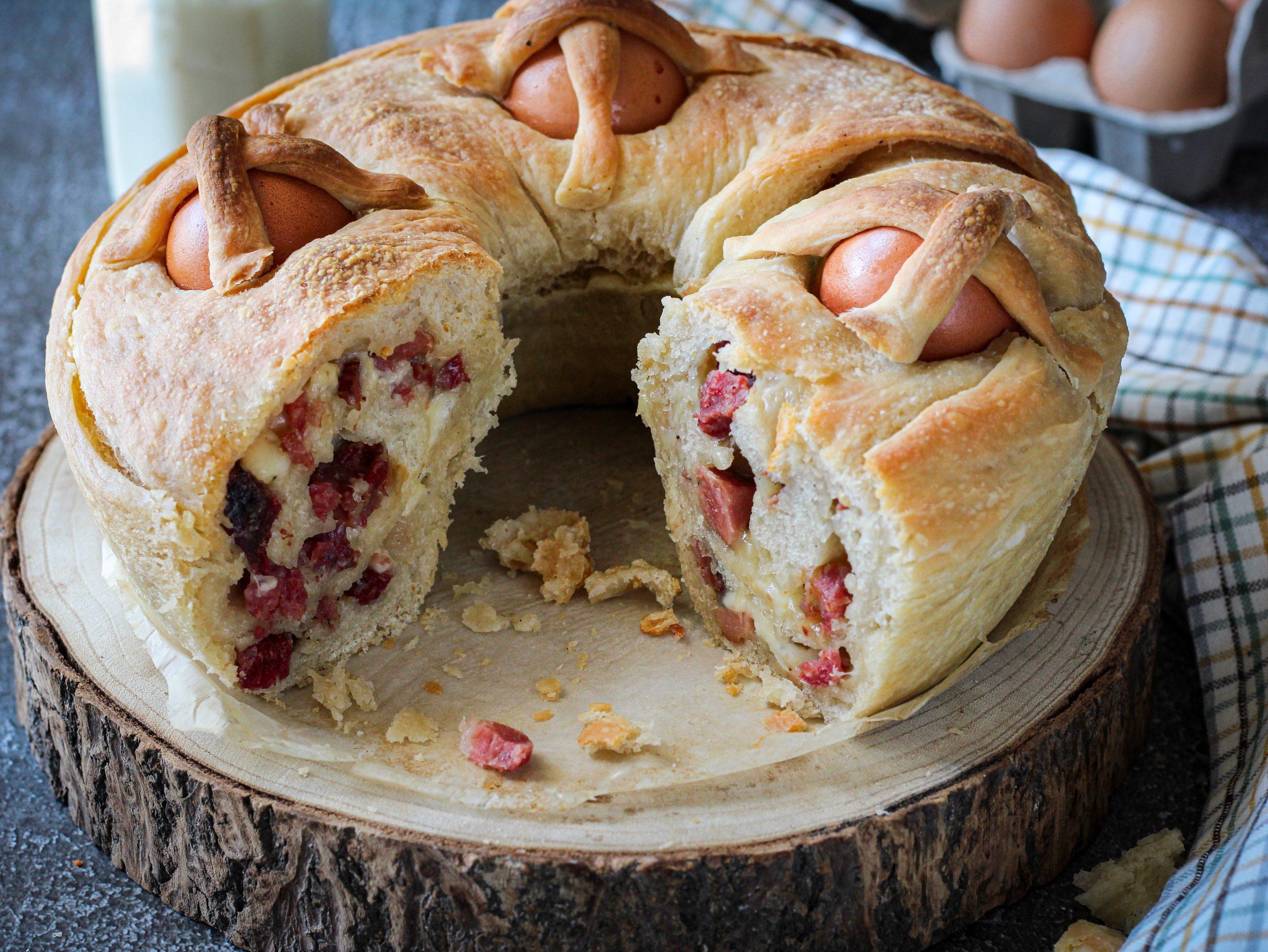 Casatiello: ricetta napoletana