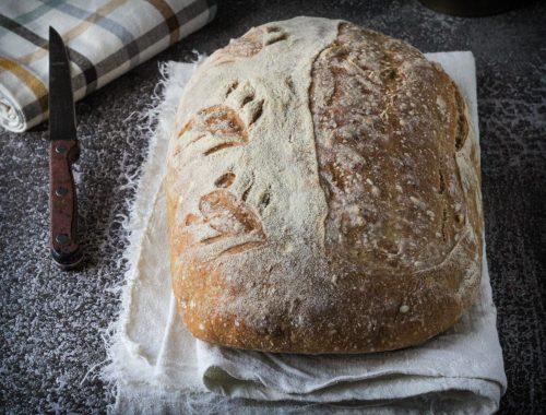 pagnotta pane fatto in casa