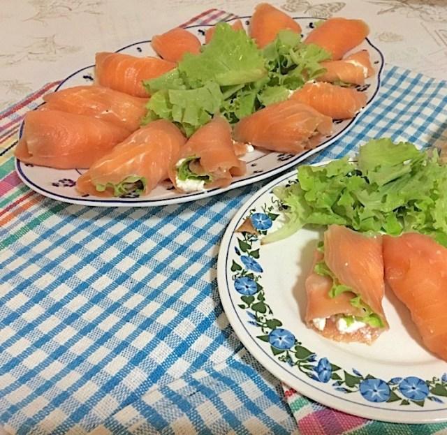 Involtini freddi di salmone 3