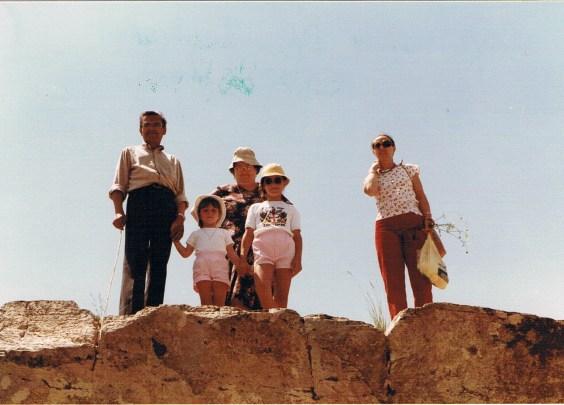 Cascades du Sautadet (30), 1984 - Source : photos de famille