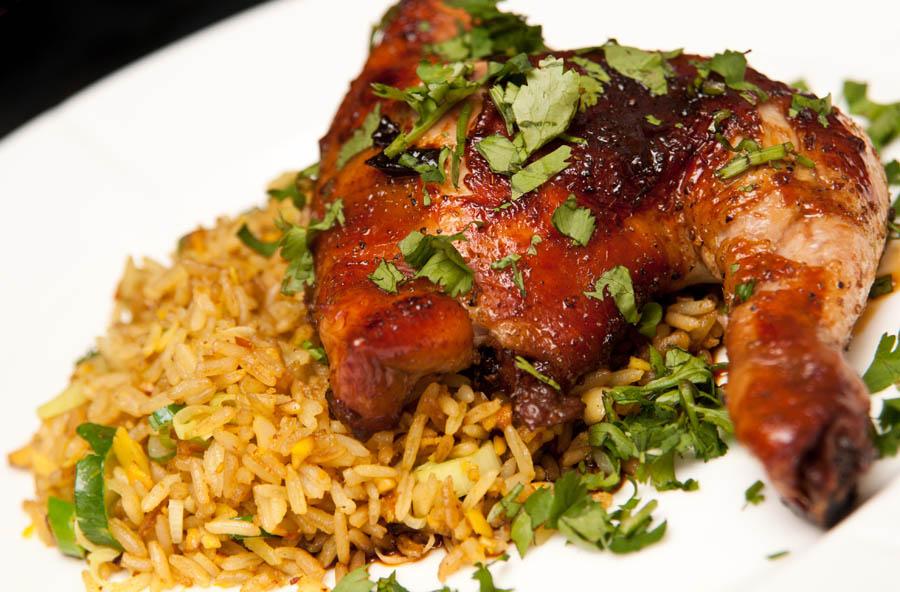 Receta de arroz con pollo al horno  Unarecetacom