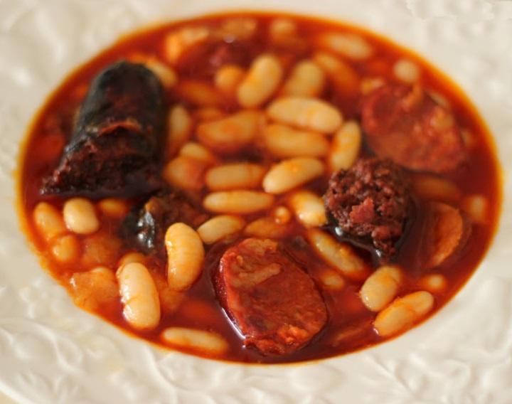Receta de fabada asturiana thermomix  Unarecetacom