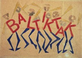 Studio per l'insegna del Bal Tik Tak - 1921 - Giacomo Balla - Torino