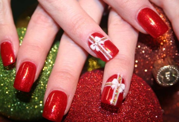 Uñas De Navidad Imágenes Con Los Mejores Diseños Uñasdecoradas Club