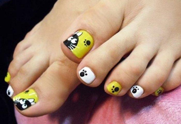 Diseños Para Uñas De Los Pies Con Fotos Uñasdecoradas Club