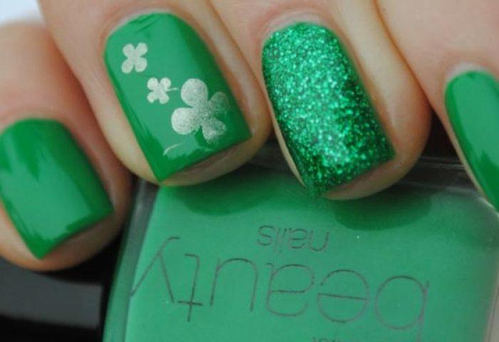 Uñas Decoradas Color Verde Jade Uñasdecoradas Club