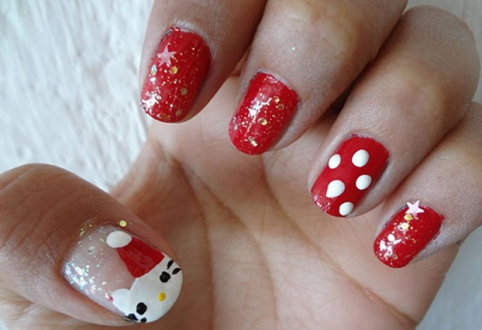 Uñas Decoradas De Hello Kitty Coloridas Y Vistosas Uñasdecoradas Club