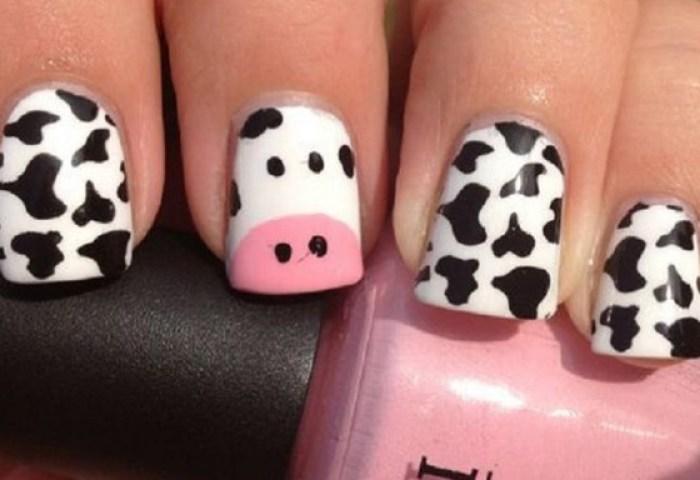 Uñas Decoradas De Vacas Uñasdecoradas Club