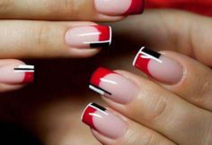 180 Imágenes De Uñas Decoradas Color Dorado Azul Rojo Rosa Negro
