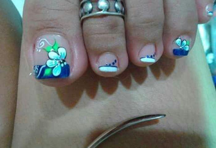 Decoración De Uñas De Los Pies 181 Diseños Hermosos