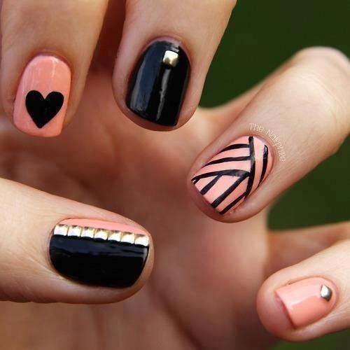 Diseños De Uñas Con Gelish Decoración De Uñas