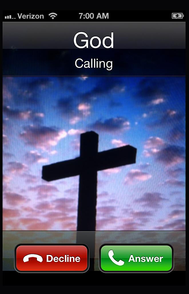 Phone Call From God : phone, Calling, Unashamed, Jesus