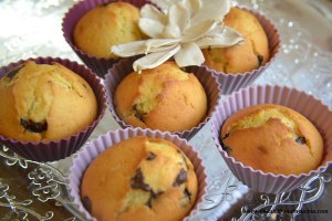 muffin ricotta e cioccolato