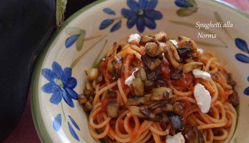 spaghetti norma