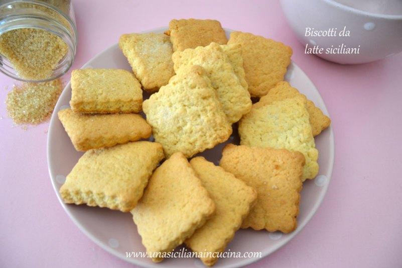 biscotti da latte siciliani