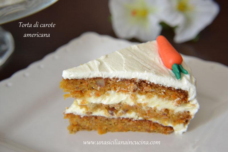 torta di carote americana