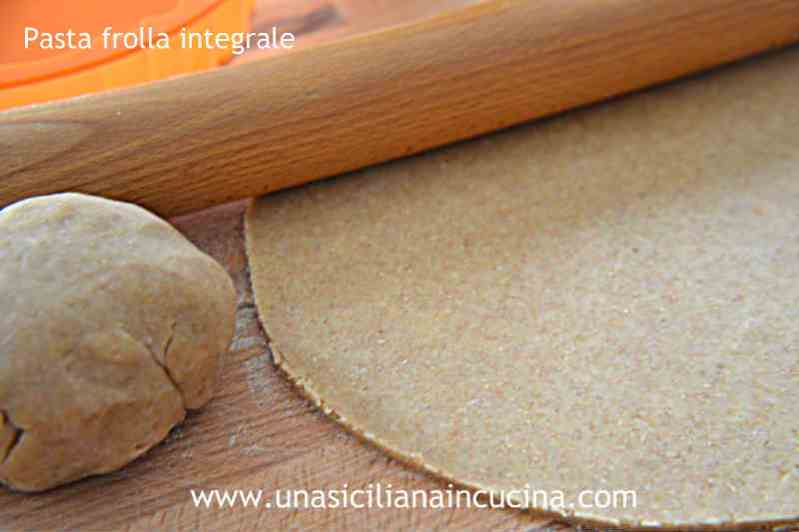 Pasta frolla integrale 1