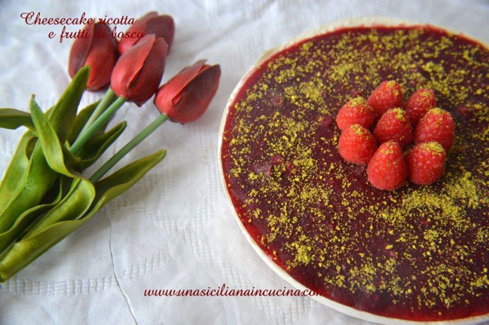 cheesecake-ricotta-e-frutti-di-bosco