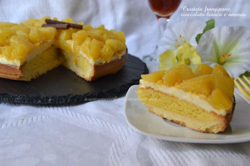 Crostata-frangipane,-cioccolato-bianco-e-ananas