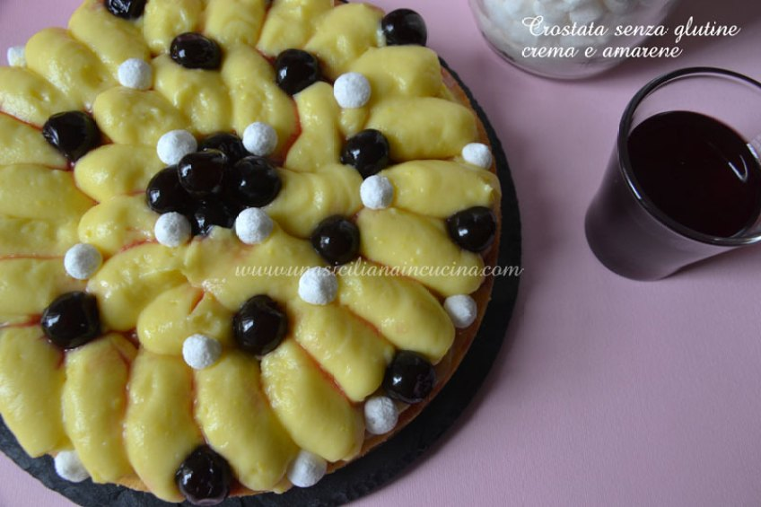 crostata-crema-e-amarene-senza-glutine-
