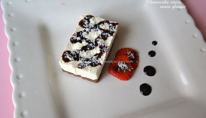 Cheesecake-cocco-senza-glutine