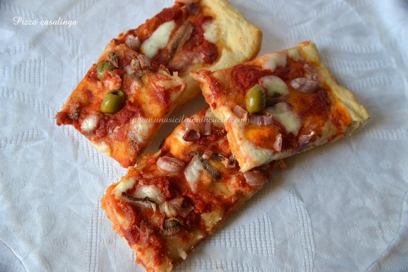 Pizza-casalinga