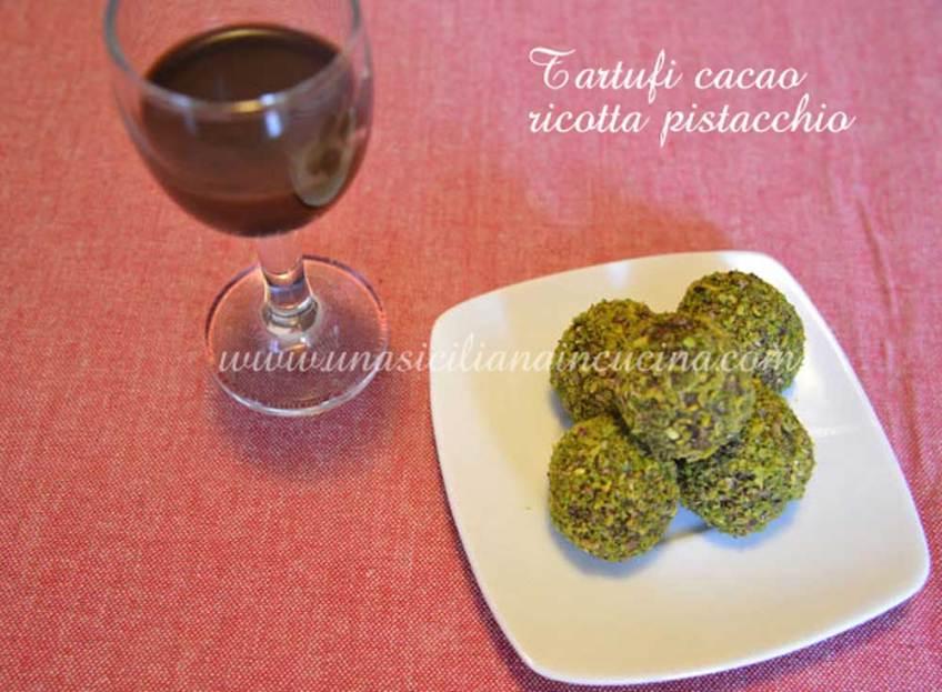 tartufi-cacao-ricotta-pistacchio