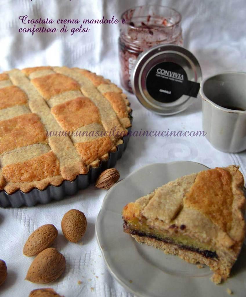 Crostata-crema-mandorle-e-confettura-gelsi