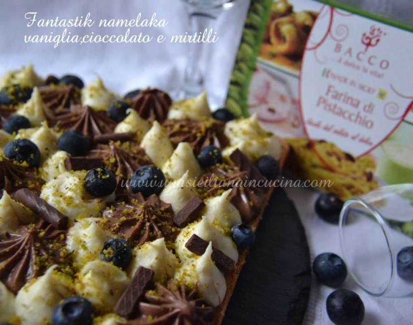 Fantastik-torta namelaka-vaniglia,cioccolato