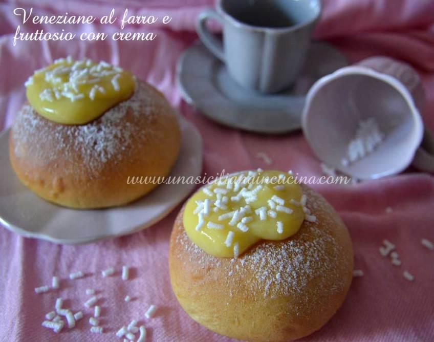 Veneziane-al-farro-e-fruttosio-con-crema