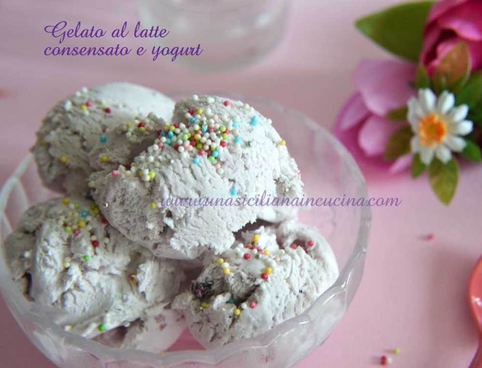 latte condensato e yogurt