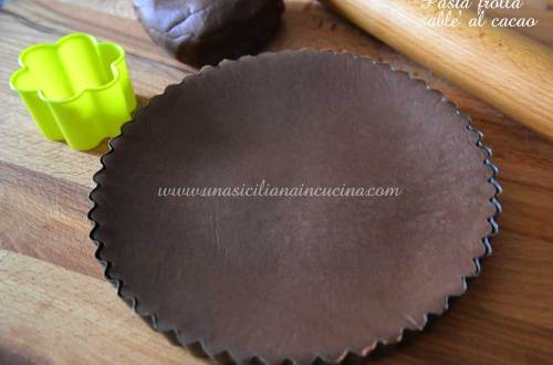Pasta frolla sablè al cacao