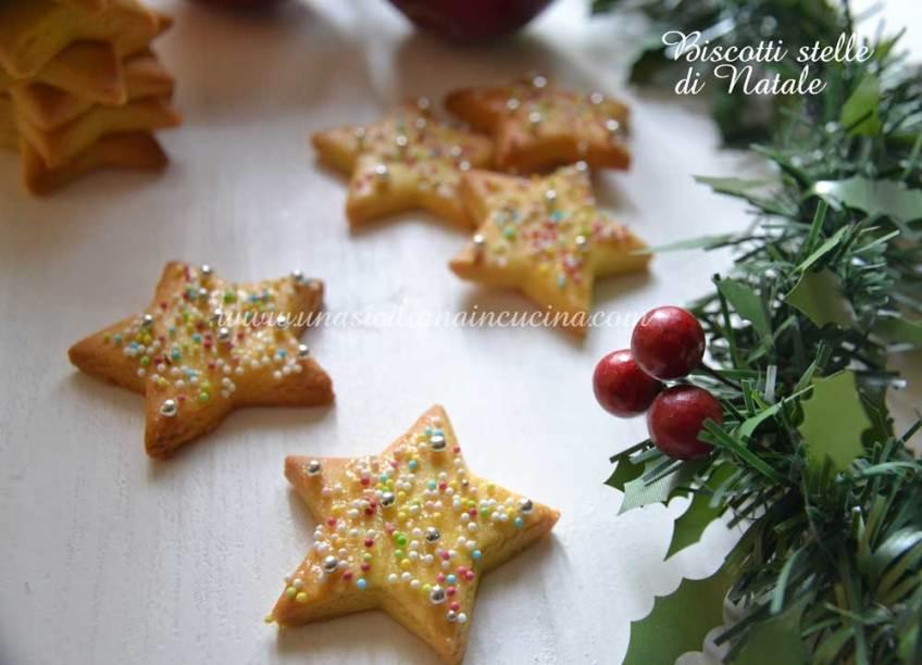 Biscotti Stelle di Natale