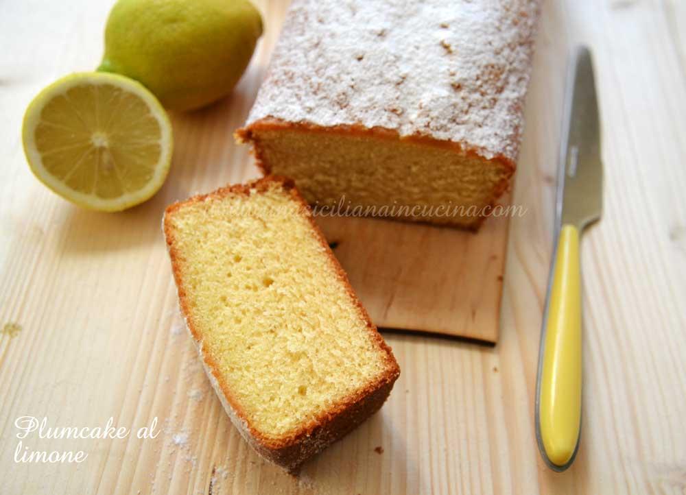 Plumcake al limone morbido