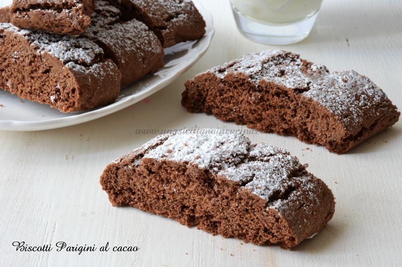 Biscotti Parigini al cacao