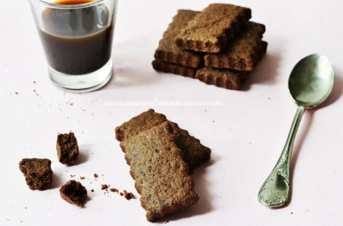 Biscotti al cacao rustici