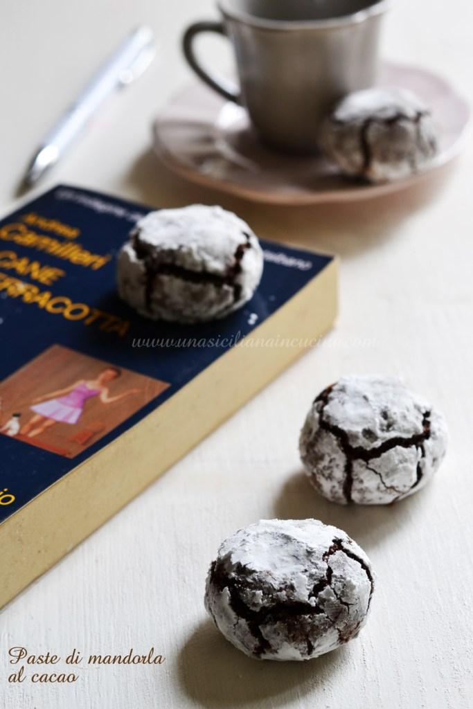 Paste di mandorla al cacao