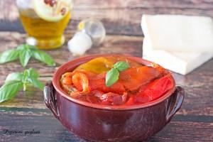 Peperoni grigliati gustosi e digeribili