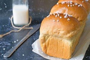 Pan brioche al latte di cocco